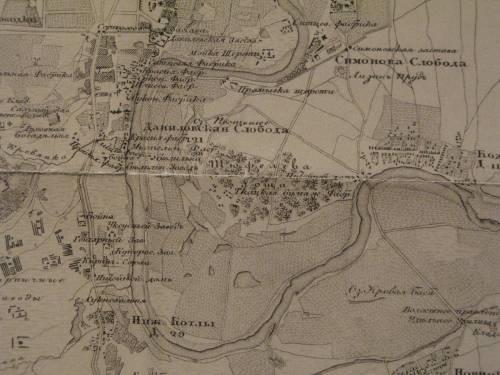 карта 1848 года