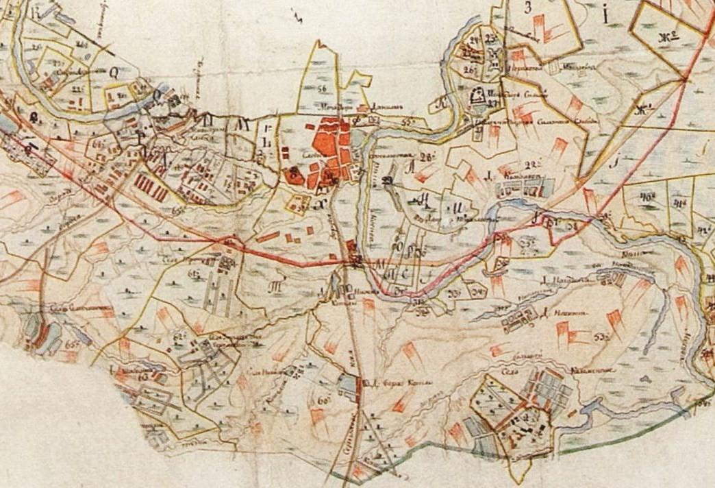 Карта Москвы с окрестностями